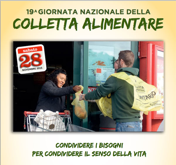 19 colletta alimentare